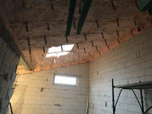 Preszów – remont kamienicy, piana Honter o grubości 25 cm