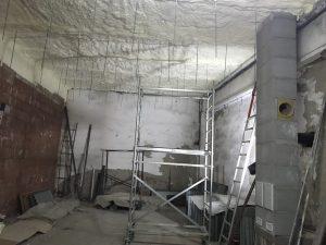 Saris – izolacja stropów i dachu, piana Demilec USA o grubości 30cm
